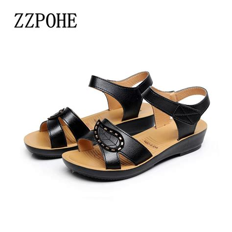 old lady shoes comfort ᑎ zzpohe 2017 summer ᗗ new new fashion ladies sandals