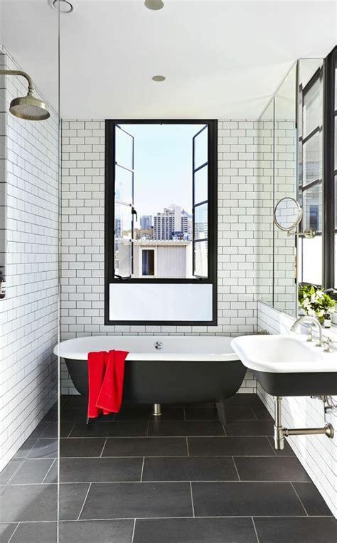 badezimmer fliesen kombinieren wei 223 e metrofliesen mit modernen bodenfliesen kombinieren
