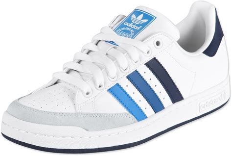 adidas tennis pro shoes white blue