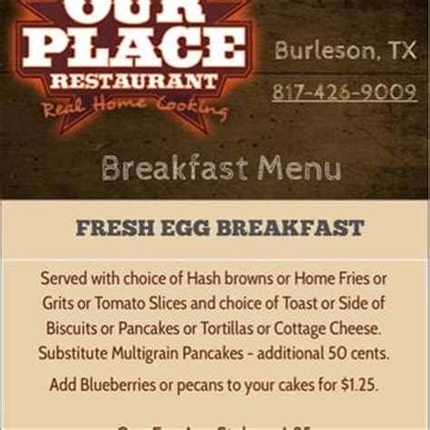 Cottage House Restaurant Menu Our Place Restaurant 45 Photos American Traditional