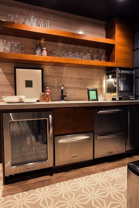Wet Bar off play room   basement remodel   Pinterest   Kitchenettes, Hardwood floors and