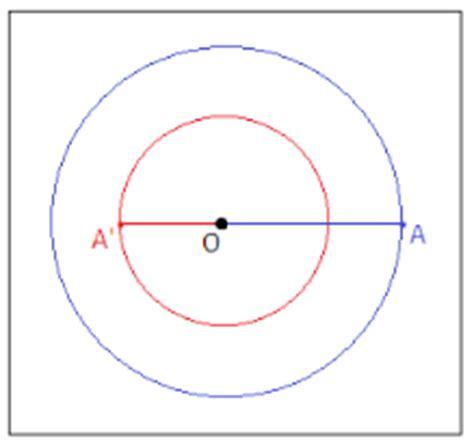 circonferenze tangenti internamente posizioni reciproche di due circonferenze matematicamente