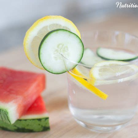 Watermelon And Cucumber Detox by Watermelon Cucumber Acv Detox Infusion Nutrition