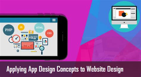 application design concepts applying app design concepts to website design shri