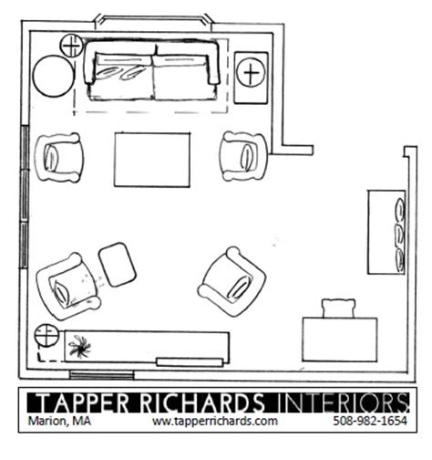 Living Room Furniture Floor Plans Tapper Richards Interiors Floor Plan Friday L Shaped Living Room