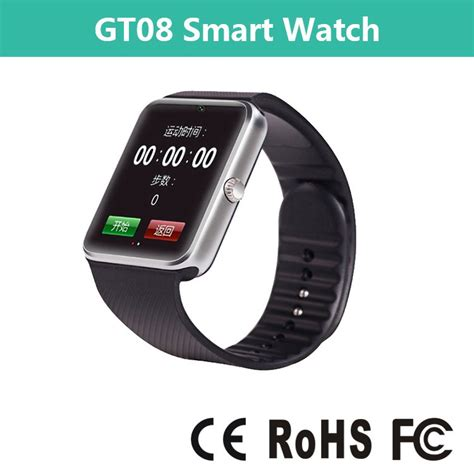 Smartwatch Rohs 2015 high quality ce rohs smart gt08 buy ce rohs
