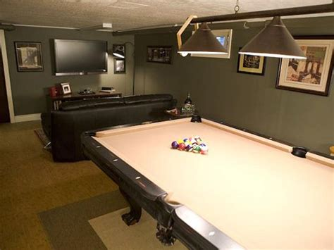 how to decorate a room with a pool table awesome rooms from caves diy