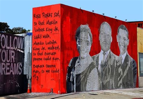 Whole Wall Murals mr brainwash s wall painting street art mousepotato
