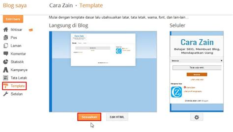 cara mudah membuat link warna warni di blog cara membuat menu bar di blog dengan mudah terbaru cara zain