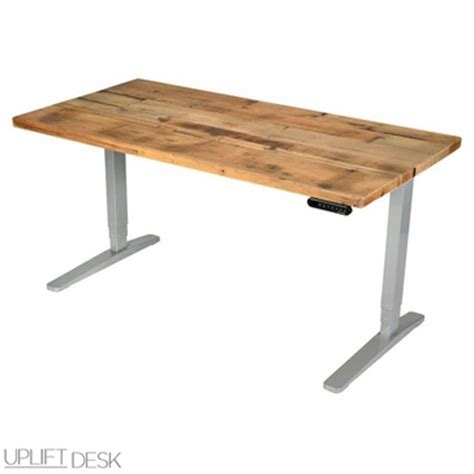 shop uplift reclaimed wood stand up desks