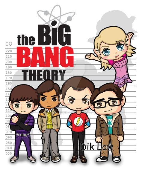 the big bang theory by dik theprince on deviantart