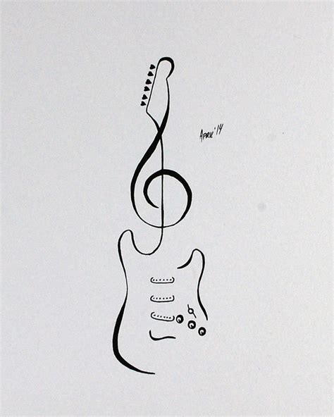 G Drawing Design by Flash Stratocaster Guitar By Aprilsink On Deviantart