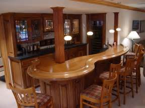 Corner home bar plans home bar design