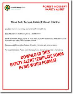 safety bulletin template pin safety database template access excel import