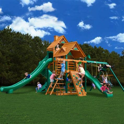 outdoor playset kits woodworking projects plans