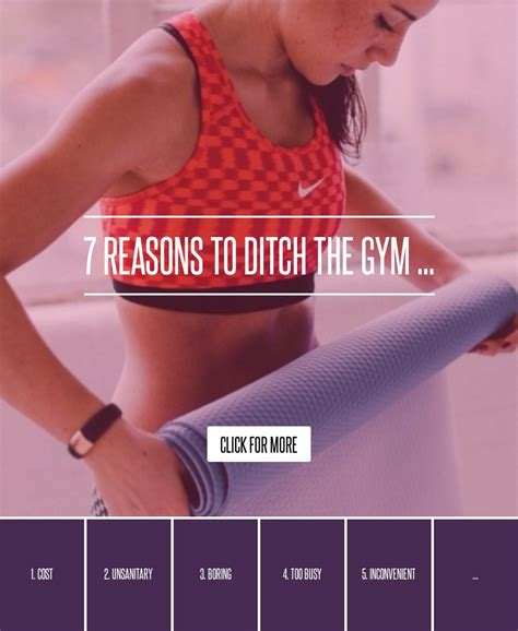 7 Reasons To Change Gyms by 7 Reasons To Ditch The Fitness