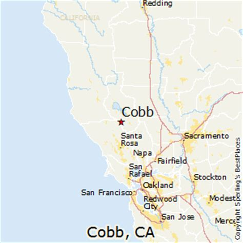 best places to live in cobb california
