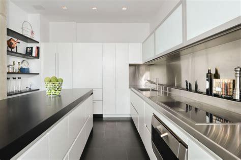 Kitchen Design Chicago White Amp Stainless Steel Kichen