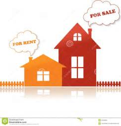 houses for and for rent vector illustration royalty