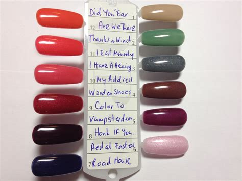 opi shellac colors polished 4 pros opi 2012 gel colors collection