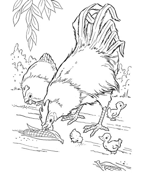 Animal Coloring Page by Free Printable Farm Animal Coloring Pages For