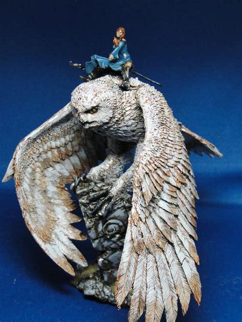 Cincin Aksesoris Fantasi Owl 2 elves owl warhammer cmon owl gallery dakkadakka