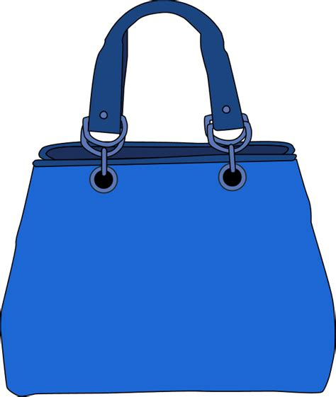 Bag Vase Blue Bag Clipart 42