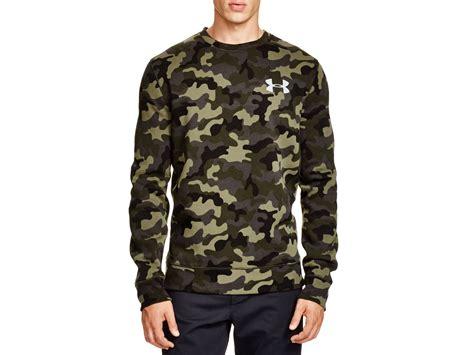 Hoodie Jaket Sweater Armour Keren 1 lyst armour rival crewneck sweatshirt in green for