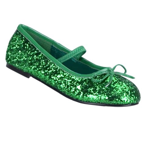 green shoes glitter green shoes costume craze