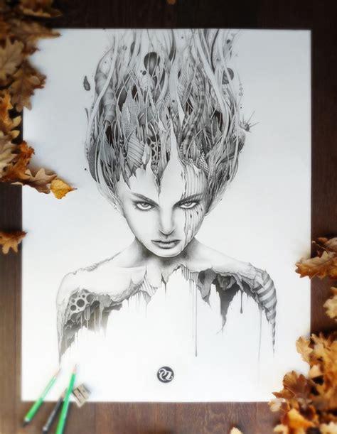 fantastic pencil sketch art  pez