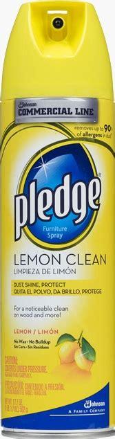 commercial  pledge lemon clean sc johnson