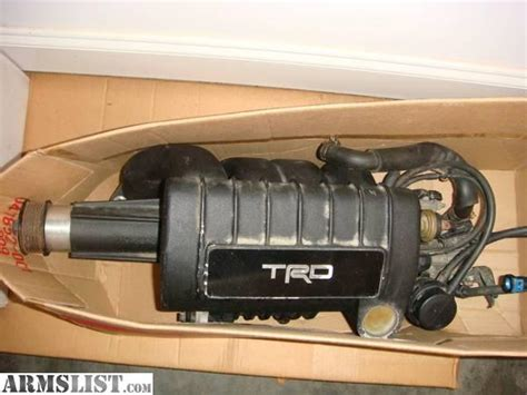 3 4 L Toyota Supercharger For Sale Armslist For Sale Toyota Trd Supercharger 1zz Matrix