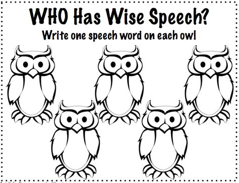 Speech Therapy Coloring Pages free coloring pages