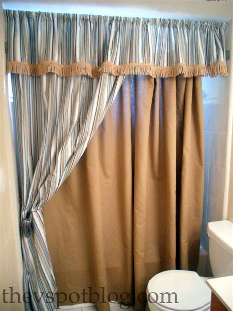 how to make bathroom curtains shower curtains with tie backs interior design ideas