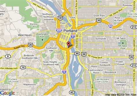 map of oregon portland residence inn portland downtown river place portland
