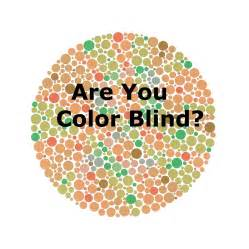 why are color blind are you color blind