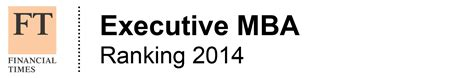 Executive Mba Rankings 2014 Usa by Coppead