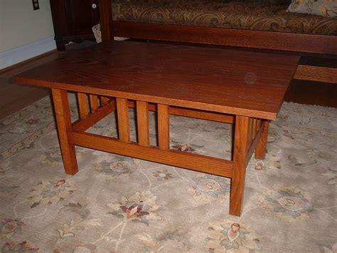 craftsman style coffee table craftsman style coffee table by quartrsawn lumberjocks