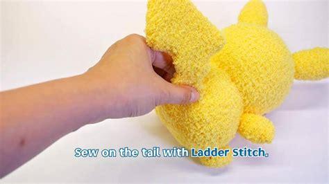 diy socks plush diy pikachu sock plushie with free pattern diy
