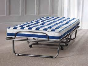 Folding Single Bed Arezzo 2 6 Quot Small Single Metal Folding Guest Bed