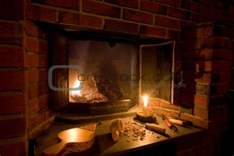 Fashioned Fireplace by Image 762818 Fashioned Fireplace From Crestock Stock