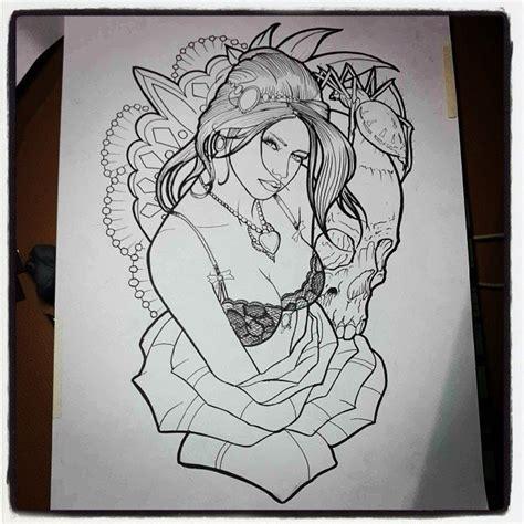 new school tattoo designs free new school design in line by timhag on deviantart