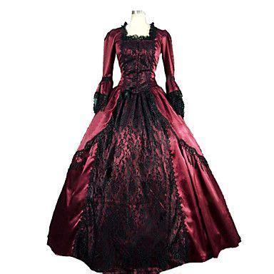 Gamis Elegan Venez vittoriano medievale costume per donna vestiti vestito