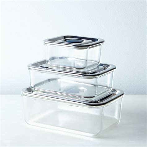 onyx containers airtight glass storage containers on food52