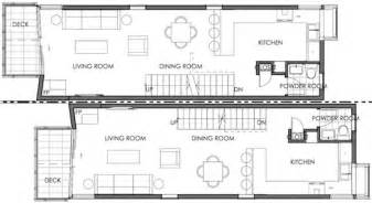 Long Narrow House Floor Plans narrow house floor plan
