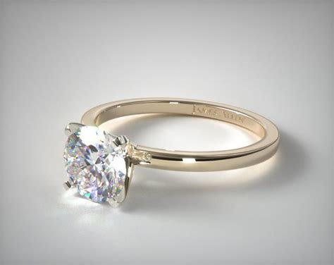 1 5mm comfort fit engagement ring 14k yellow gold 17740y14