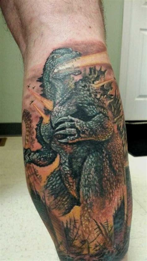 godzilla tattoos 73 best godzilla friends tattoos images on