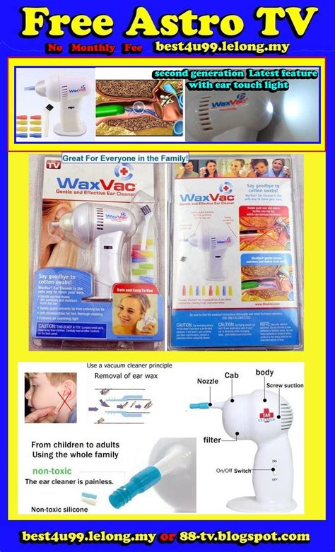 Wax Vac Ear Cleanerpembersih Telinga dr vac ears cleaner pembersih teling end 8 18 2015 2 15 pm