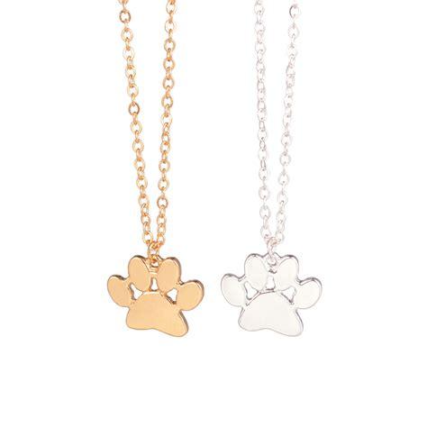 And Paw Necklace aliexpress buy minimalist jewelry sale paw