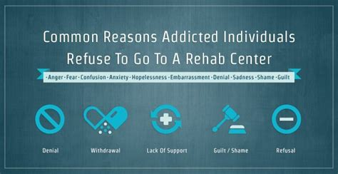 addicted to rehab common reasons addicted individuals refuse to go to a